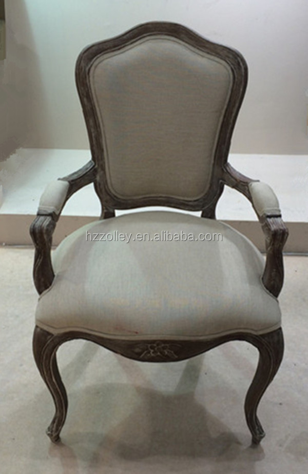Antique wood carved chair hand craft high end chair living room relax chair