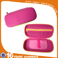 Custom packaging EVA color multiprupose pencil box with compartments for students