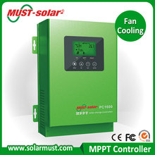 2016 New product Fan Cooling 45A/60A MPPT Solar charge controller
