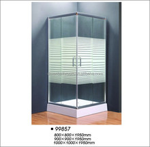6mm glass square corner cheap shower enclosures /shower cabin 99857