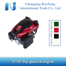 6hp vertical shaft gasoline engine 1P70F