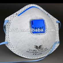 FFP2 mining dust mask respirator with active carbon