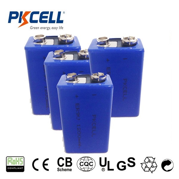 High quality ER9V 10.8V 1200mAh lithium battery widely used for meters