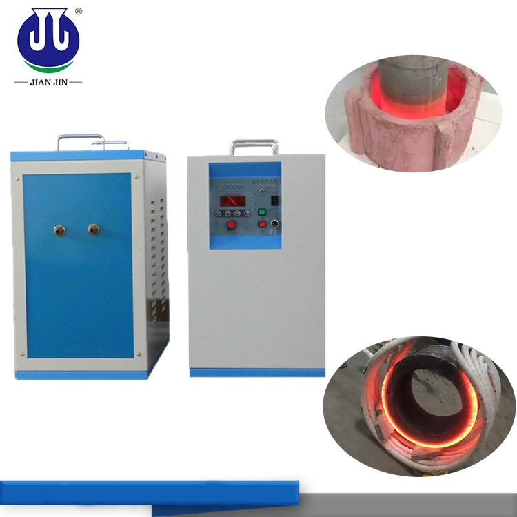 small volume and cheap price college experimental induction hot forging furnace factory