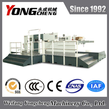 YC1650QX yongcheng automatic flute die cutting and creasing machine