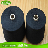 Ne10s open end cotton polyester yarn knit jersey fabric