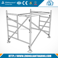 Used aluminum folding scaffolding for sale