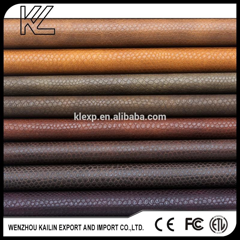 PU leather for shoes or sofa or bags or furniture car
