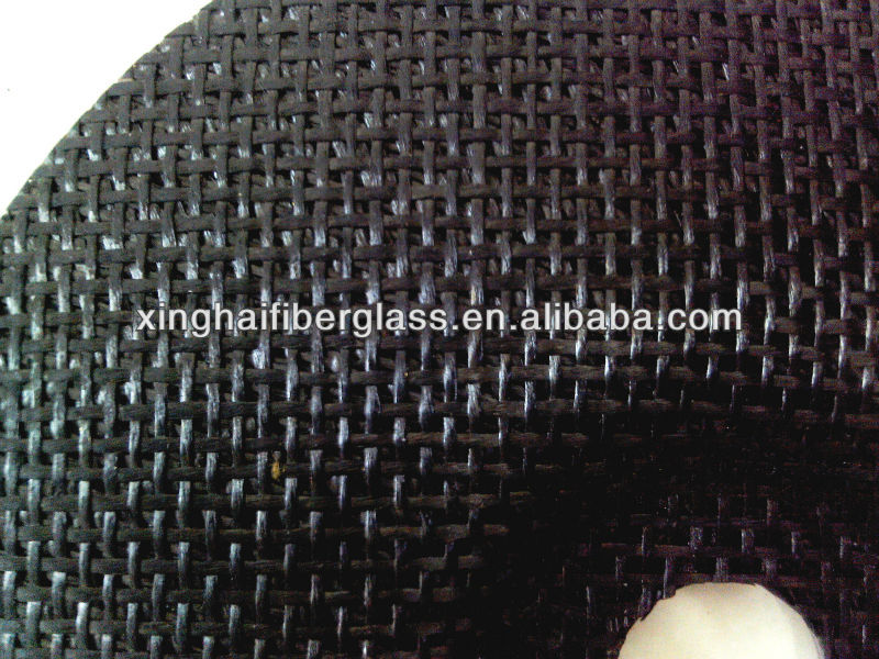 Fiberglass backing plate with 2 metal rings for making abrasive flap disc