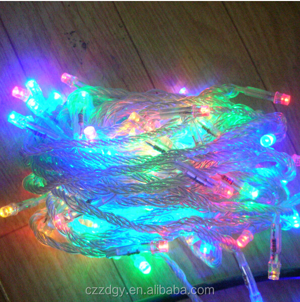 china wholesale 10m 100 lights string solar outdoor holiday mini christmas tree decorations led string light