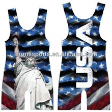 USA Profession School Wrestling Singlets