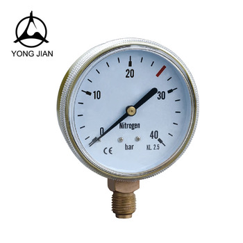 Guaranteed Quality CE Certificate Gas Pressure Gauge Nitrogen