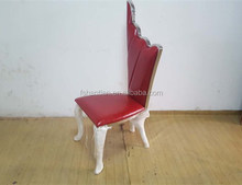 Stainless steel frame and PU king chairs made in china