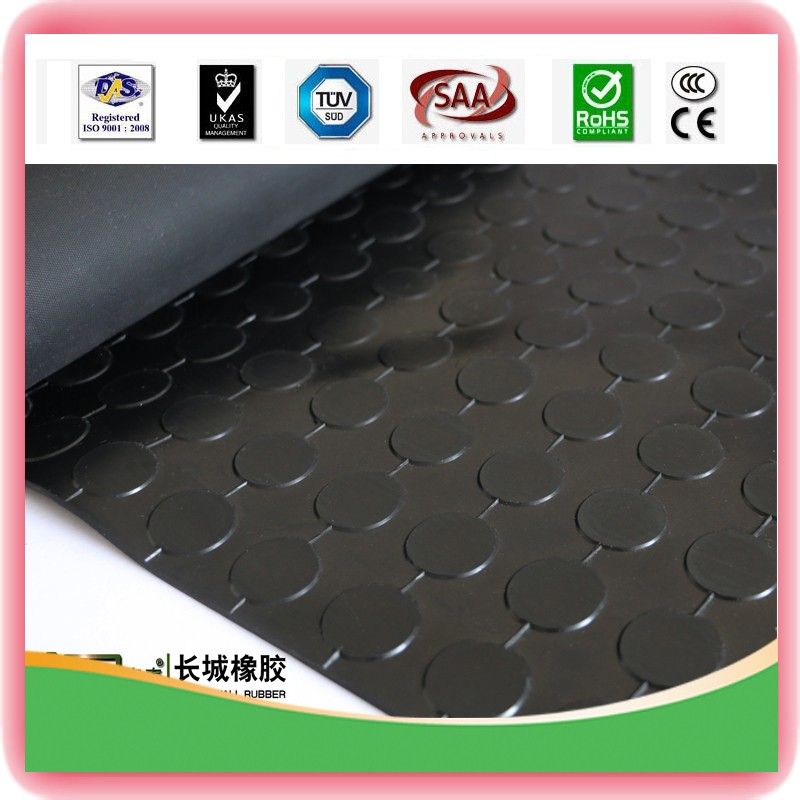 Greta Wall China Direct Manufacturer Supply Round Button Rubber Mat With High Quality