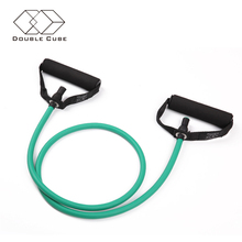 Fitness building equipment and gym equipment elastic rubber latex heavy breakaway resistance bands set with ankle straps