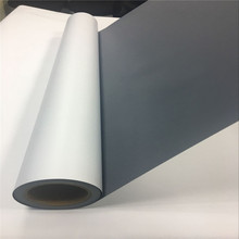 FLY popular display materials gery back composite banner film for <strong>roll</strong> up