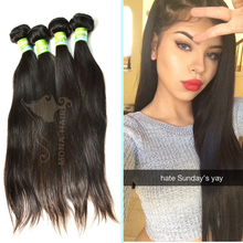 China supplier overnight ship out great 8A cambodian straight weaving hair extension in new york