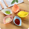 Useful Ceramic leaf shape sauce plate/dish