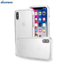 Onlinestore Phonecase Clear Transparent Tpu Cover Mobile Shell Phone Case For Apple Iphone X Case