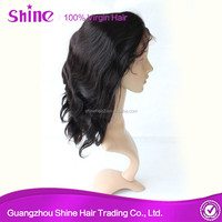 hot selling high quality 150% denstity 100 percent indian remy human hair remy hair wig