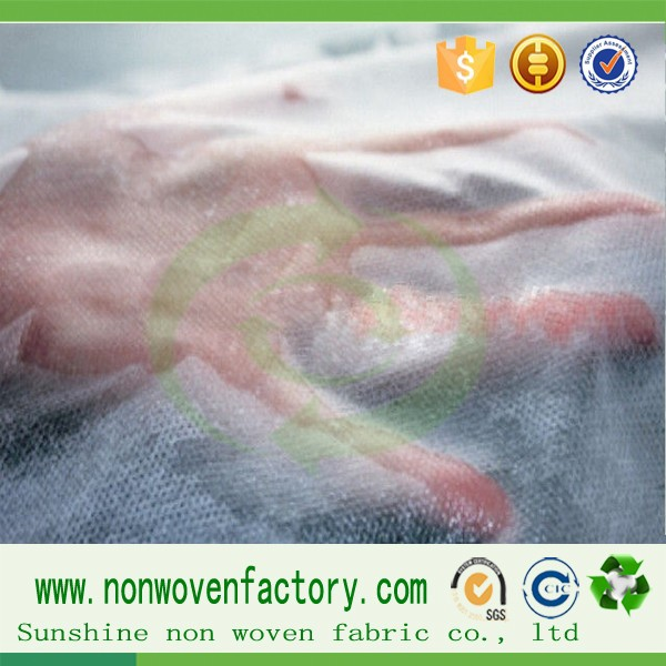 Fabric manufacturere home textile raw material for sanitary napkins