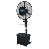 Taizhou Debenz air mist cooler standing water mister fan