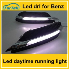 high quality low price drl led daytime running light for mercedes benz w204 china