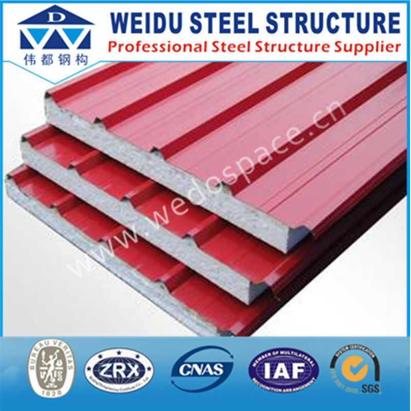 Hot sale corrugated xps sandwich panel for roofing sheet