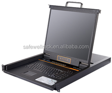 "Safewell SW-LC1916 USB 16 Port KVM Switch with 19"" Screen"