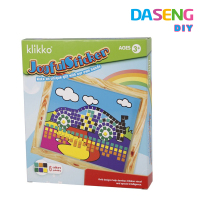 Wholesale sticky mosaic art toy for home decoration