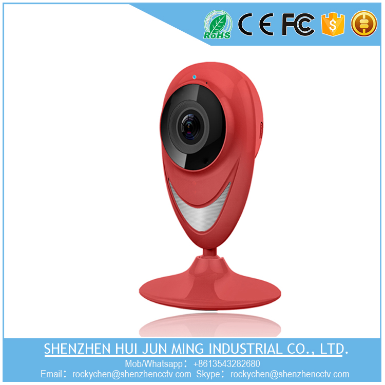 2017 new style particular mini 180 panoramic fish eye wireless wifi vr camera with cloud recording