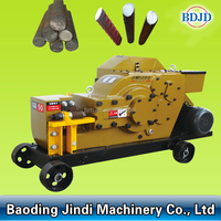 dia40mm steel rebar cutting machine supplied by manufacturer directly