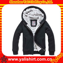 Custom latest style comfort high quality casual plain warm real fur hooded winter coat 2014