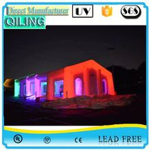 2017qiling holiday portable light inflatable igloo tent for sale for event