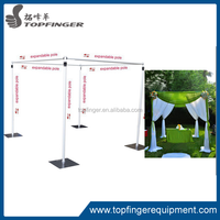 2015 best price chuppah frame backdrop pipe and drape/portable pipe and drape/adjustable pipe and drape (TUV certificate)