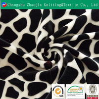China high-quality textile supplier wholesale animal skin prints elastic leopard fabric for a variety of purposes