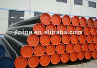 API5L ERW steel line pipes for gas and oil delivery with 3PE anti-corrosion treatment