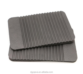 Wear-resistant Durable Crazy Texture Black EVA Sheet Material for soles