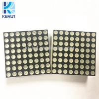 Free sample China Anode / catonde red/green 2mm pitch led dot matrix 8x8 led matrix display