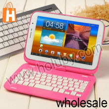 New Arrival 360 Degree Rotate Removeable Flip Hard PC Case Bluetooth Keyboard For Samsung Galaxy Note 8.0 N5100 N5110