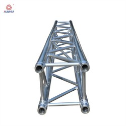 Aluminum roof truss with portable stage