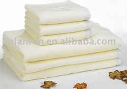 organic terry cotton fabric towel set / natural health products without harmful chemicals towel