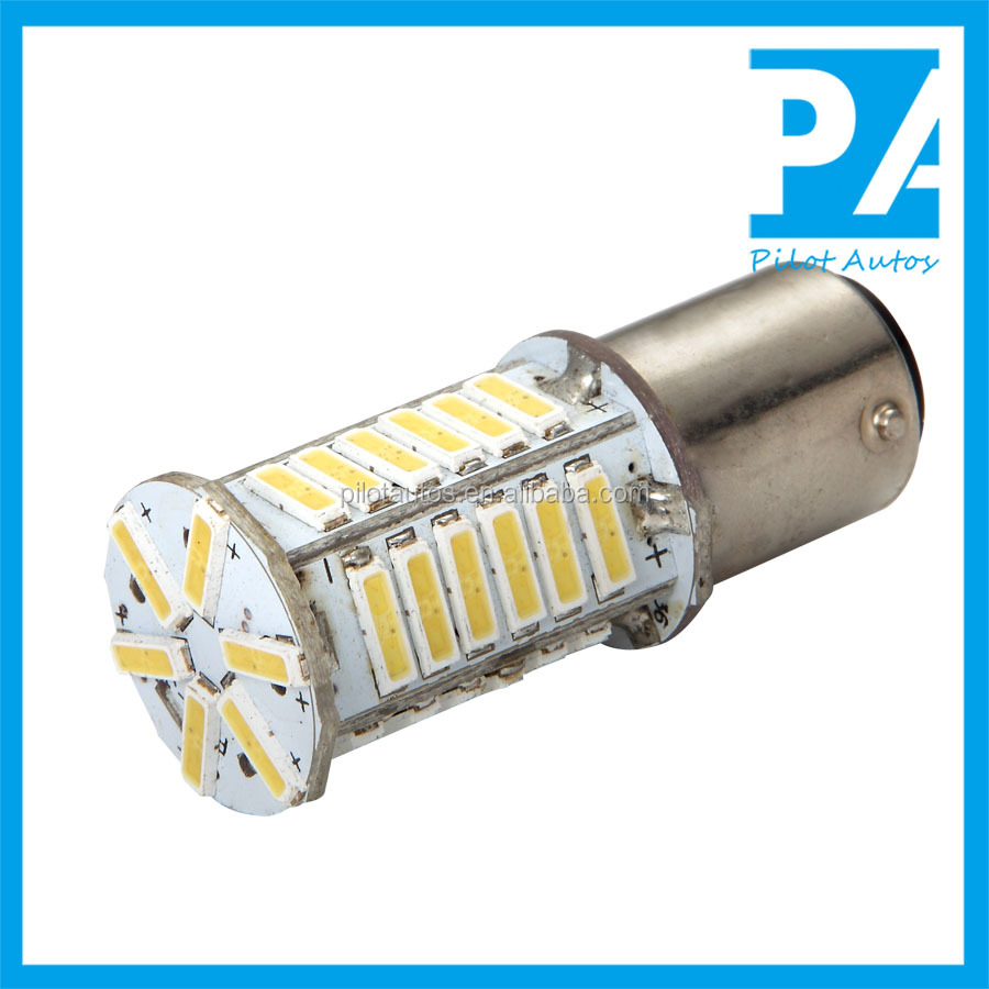 Factory Wholesale Car Autos Tube Bulb Light Lamp LED S25 1156 P21W BA15S BAU15S PY21W R5W 1157 BAY15D P21 7014 18SMD 26SMD 36SMD