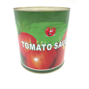 China professional manufacture Barbeque bulk Sauce canned Cooking Tomato Sauce