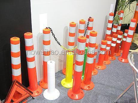 45CM/75CM PU Spring Back Flexible Warning Durable Flexible Sign Post