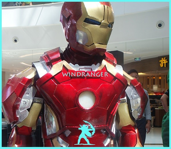 Windranger - Ironman costumes robots for adults