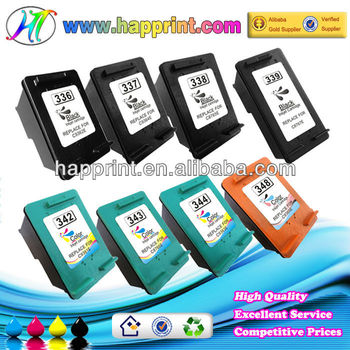 C9362E C9364E C8765E C9361E C8766E C9363E Replace ink cartridge for hp 336 337 338 339 342 343 344 for hp ink cartridge
