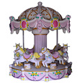 Factory price 6seats small carousel for sale mini carousel for sale merry go round