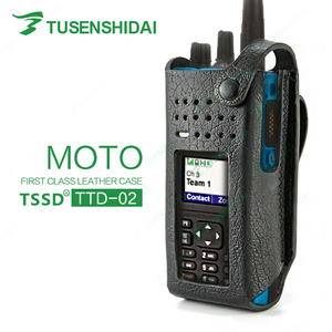 Military leather radio case TTD-02 for baofeng WALKIE TALKIE for police