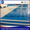 used light steel material corrugated eps sandwich panel price/wall sandwich panel price